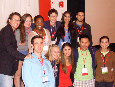 image of students at the NCSL Conference