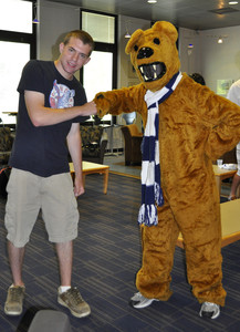 student and nittany lion