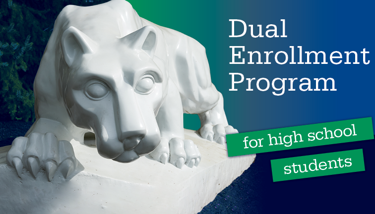 Dual Enrollment Program for High School Students