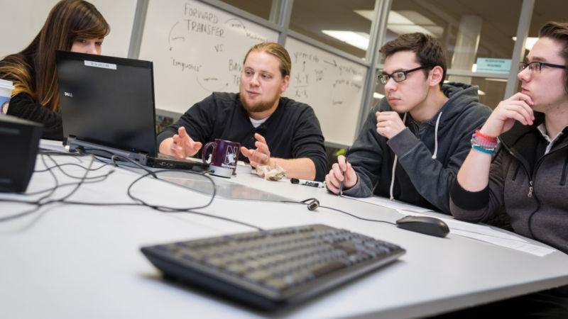 Undergraduate research team