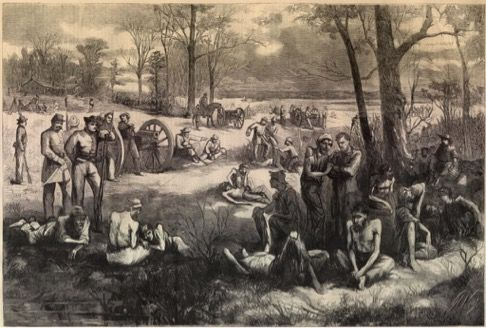 Civil War prison camp