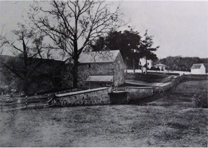Emlen property circa 1865, Yearsley Mill and Old Forge Rd.