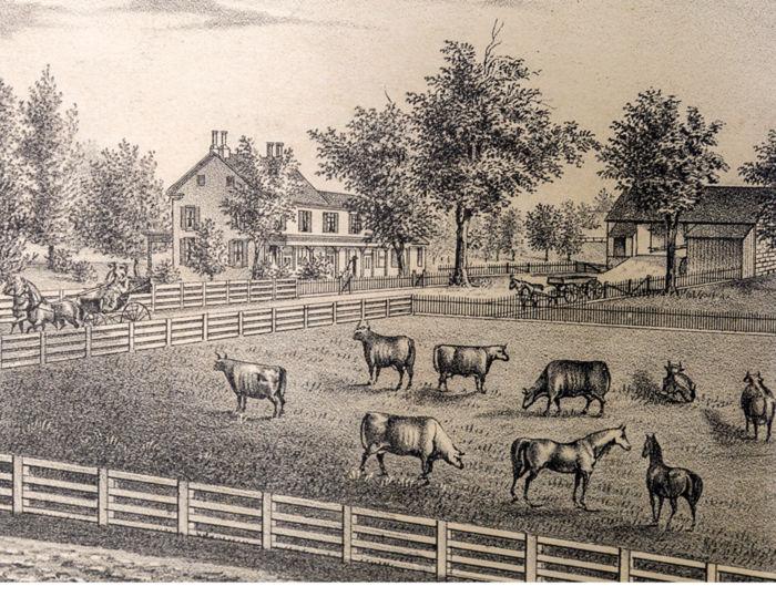 Pratt Farm circa 1875