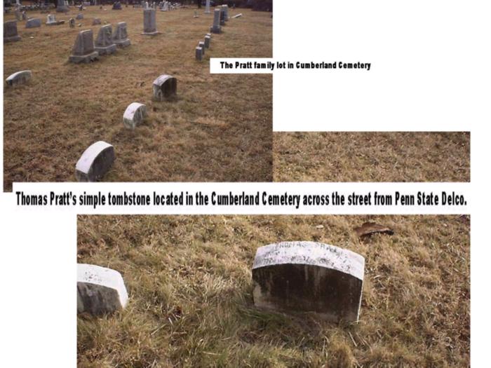 Pratt family burial plot
