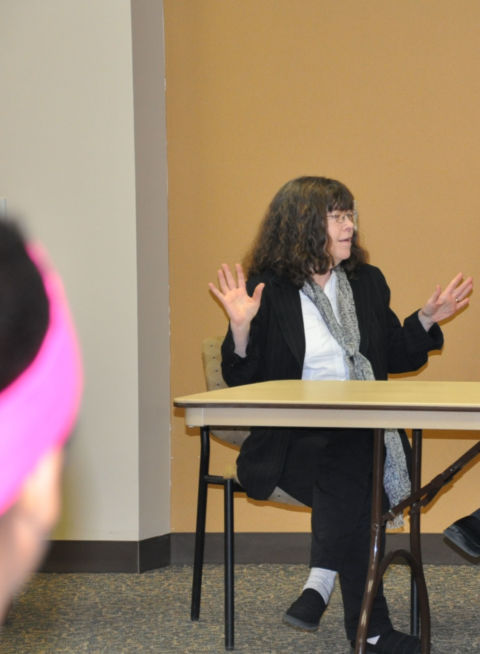 Margaret Signorella at Intl. Women's Day