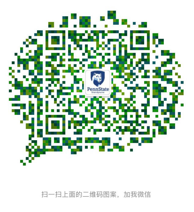 QR code -Scan my QR code and add me on WeChat