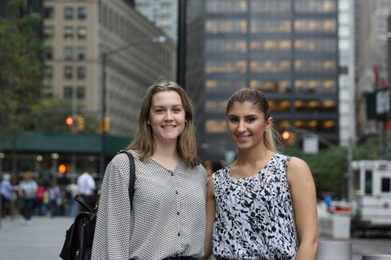 Meaghan Paige and Ana Elmasllari