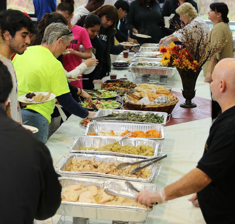 Thanksgiving food