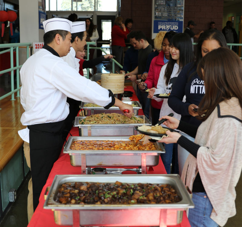 n February, students planned, organized and hosted a Chinese New Year banquet