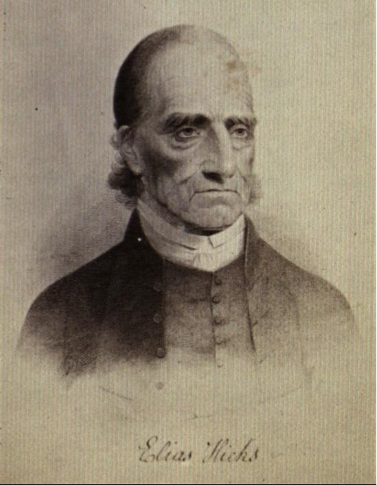 Quaker Minister Elias Hicks