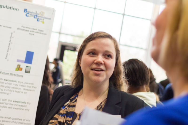 Lauren Lomas presents research