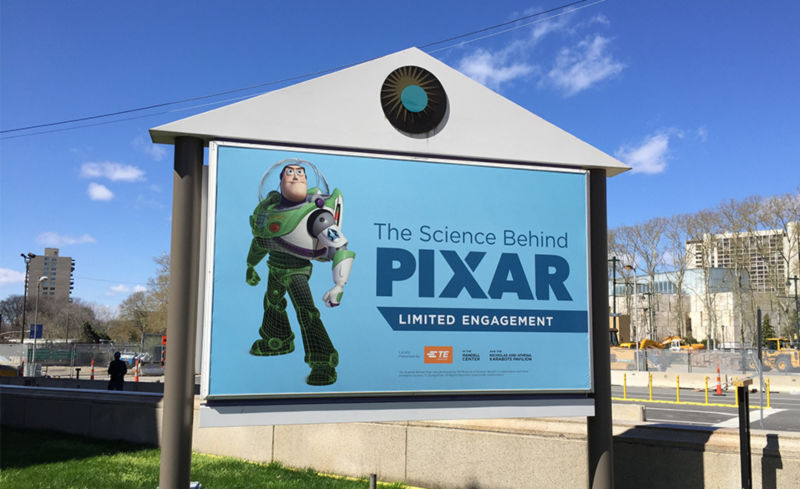 "In April, students attended the ""Science of Pixar"" exhibit at the Franklin Institute in Philadelphia."