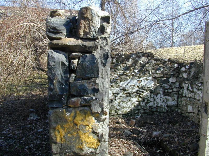Pratt springhouse wall