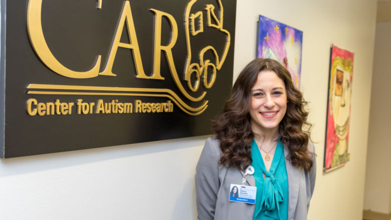 Rebecca Slomowitz at the Center for Autism Research