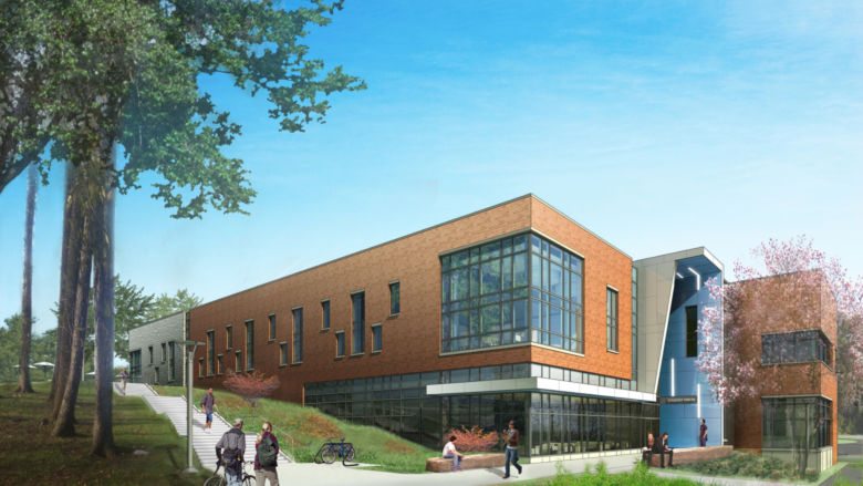 Penn State Brandywine student union builing